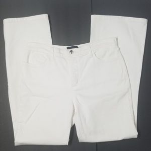 NYDJ Jeans High Rise White Size 12